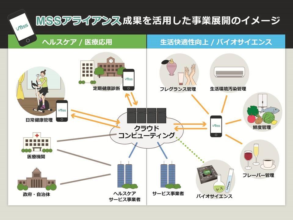 図2:MSSの実用化で目指す社会